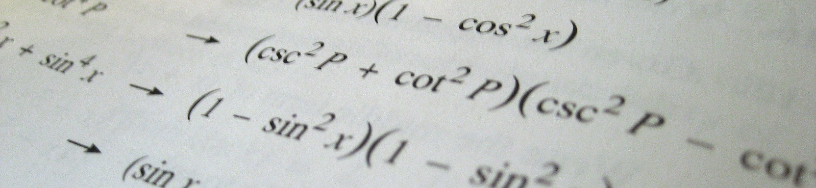 Math Equations photo