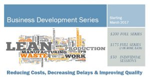 Business Development Series Dates for 2017