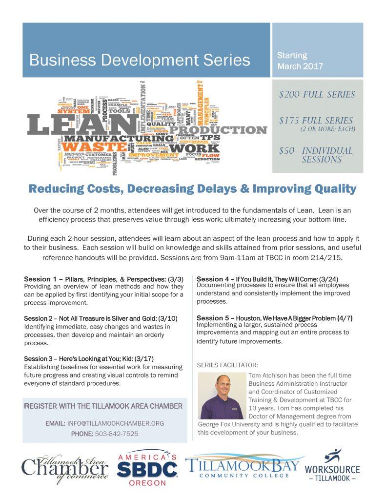 Business Development Series Flier -March 2017