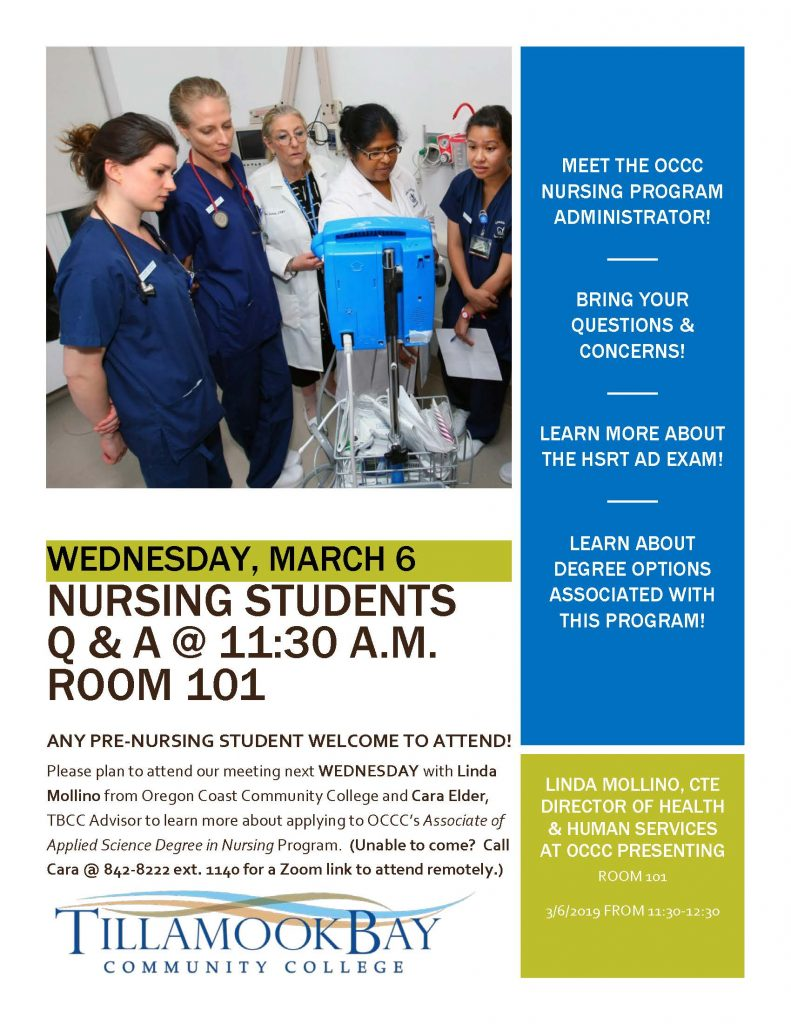 Nursing Info Session MARCH2019