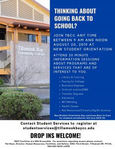 New Student Orientation Invitation