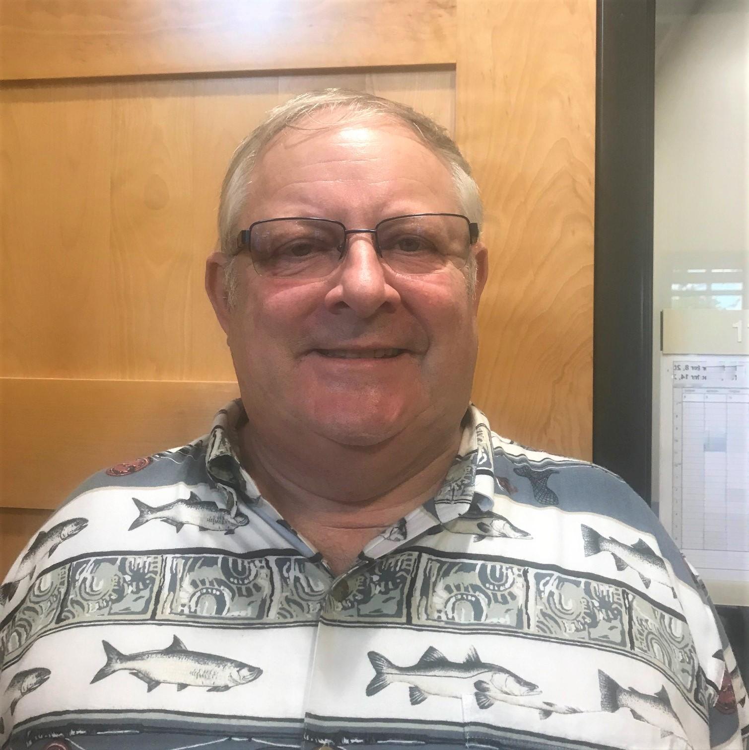 portrait of CDL instructor Buzz Wilcox