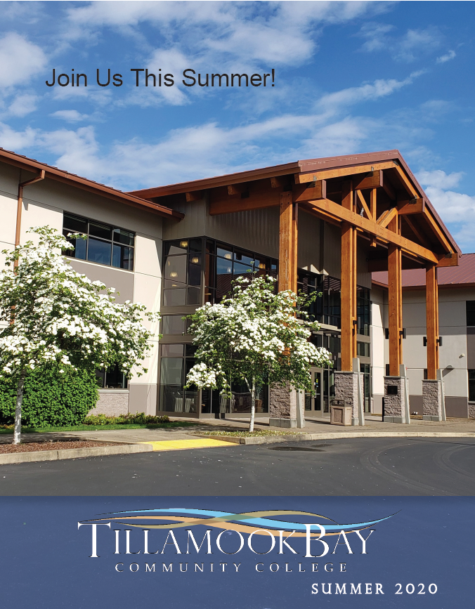 2020 Summer Schedule Cover image of the front of the main building