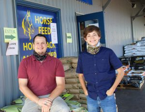 Farm Store Manager with Intern