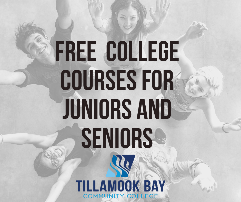 Free College Courses for Juniors and Seniors